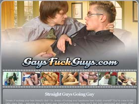 Welcome to Gays Fuck Guys - straight guys going gay!