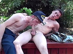 Two Men Fuck Each Other In The Ass